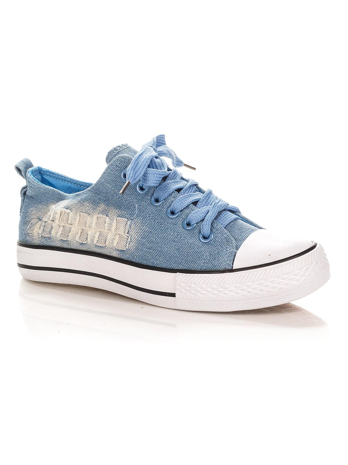 Кеды голубые   4389048