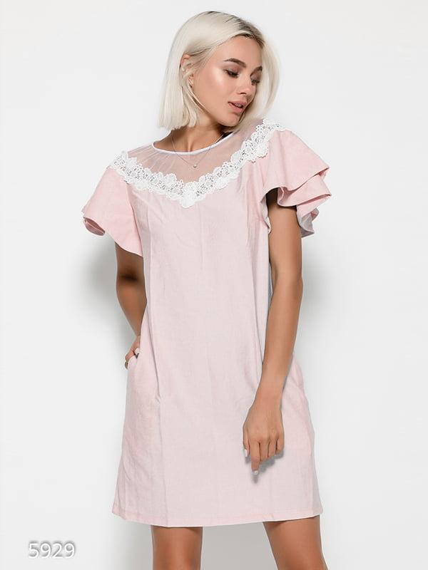 Платье розовое | 4412351