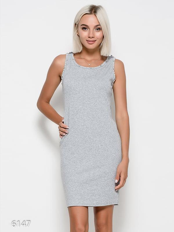 Платье серое   4412358
