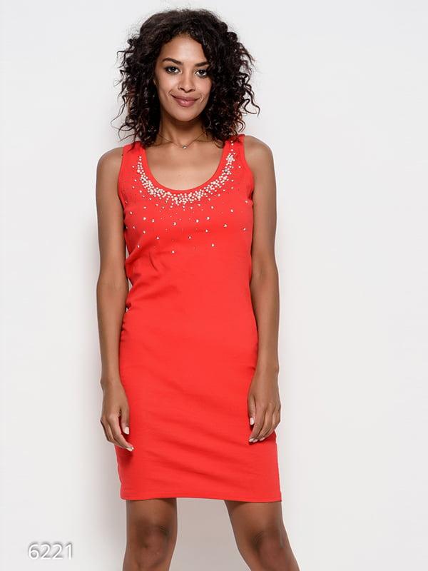 Платье красное | 4412372