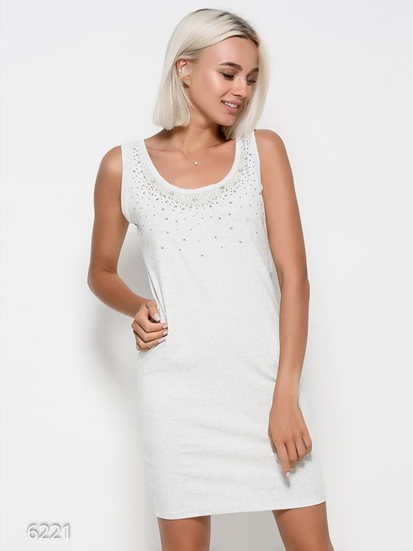 Сукня світло-сіра | 4412373