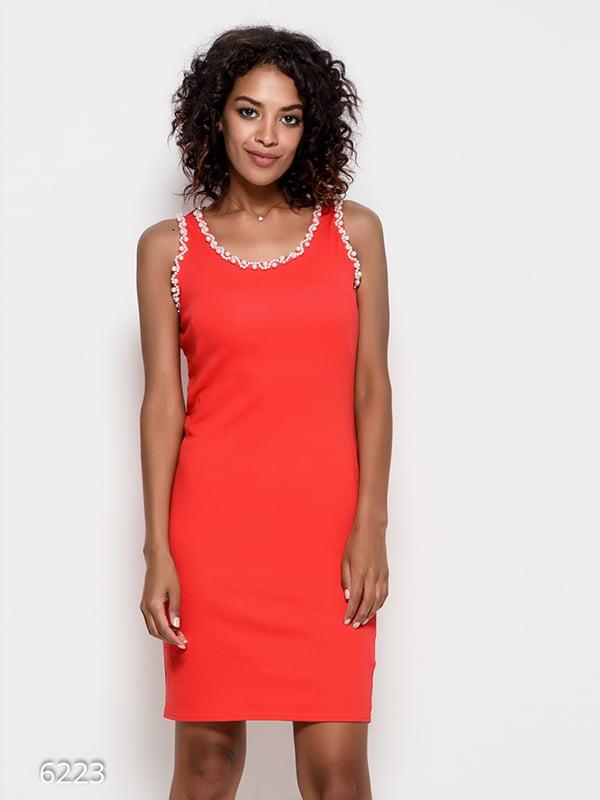 Платье красное | 4412376