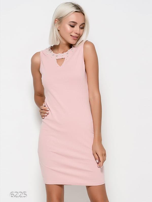 Платье розовое | 4412381