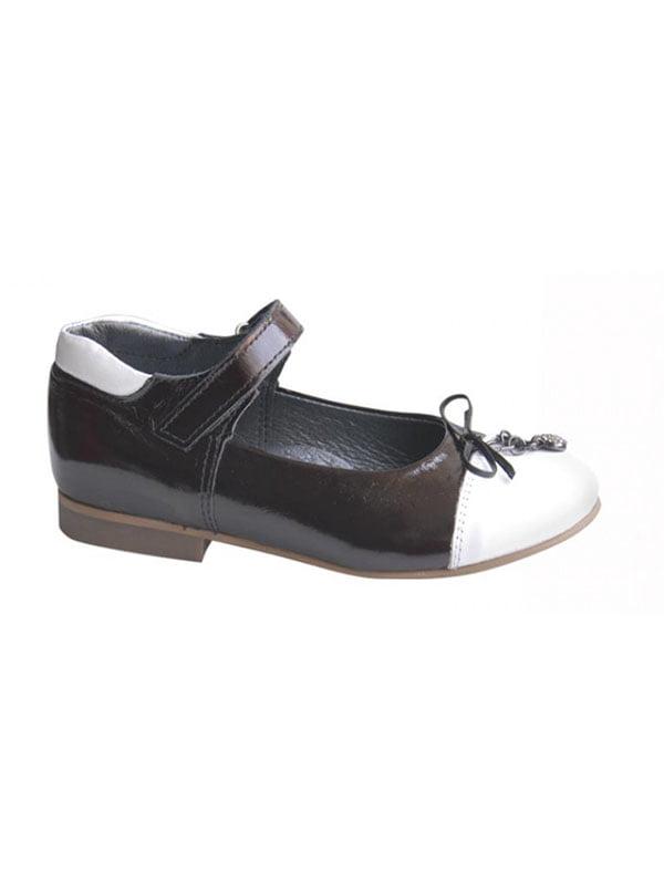 Туфлі чорно-білі | 4407906