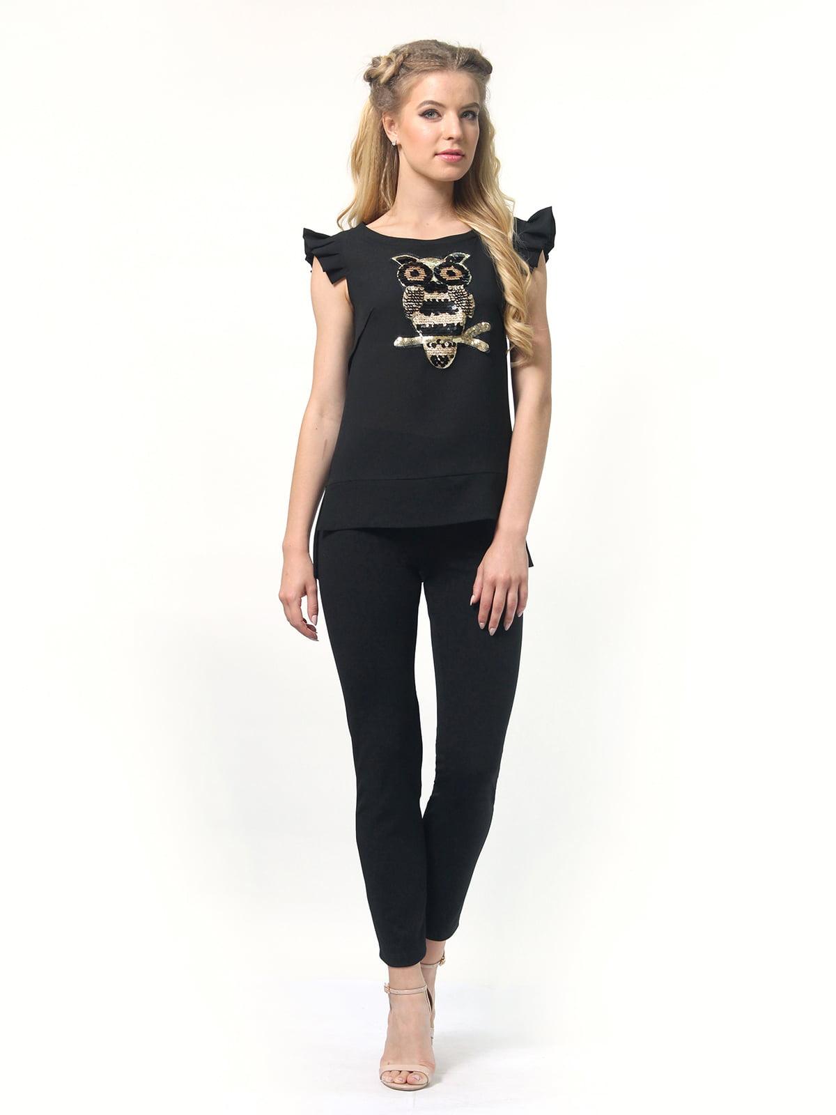 Блуза черная   4418810