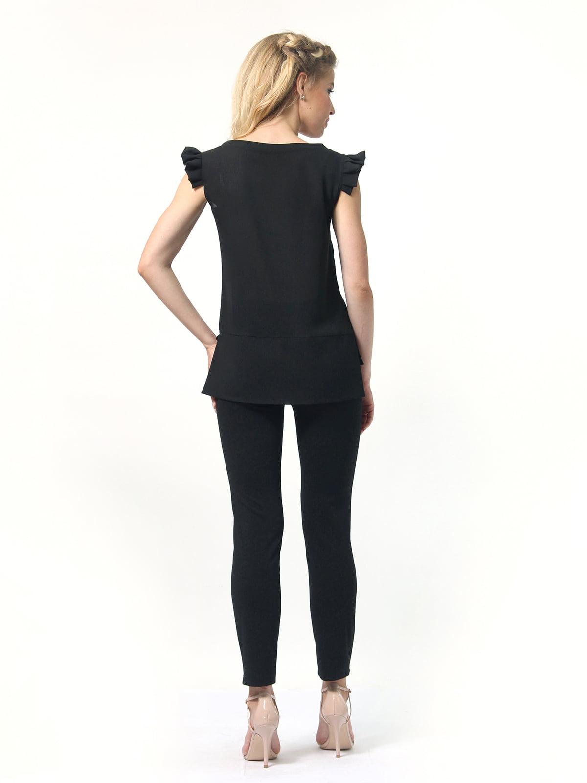 Блуза черная   4418810   фото 6