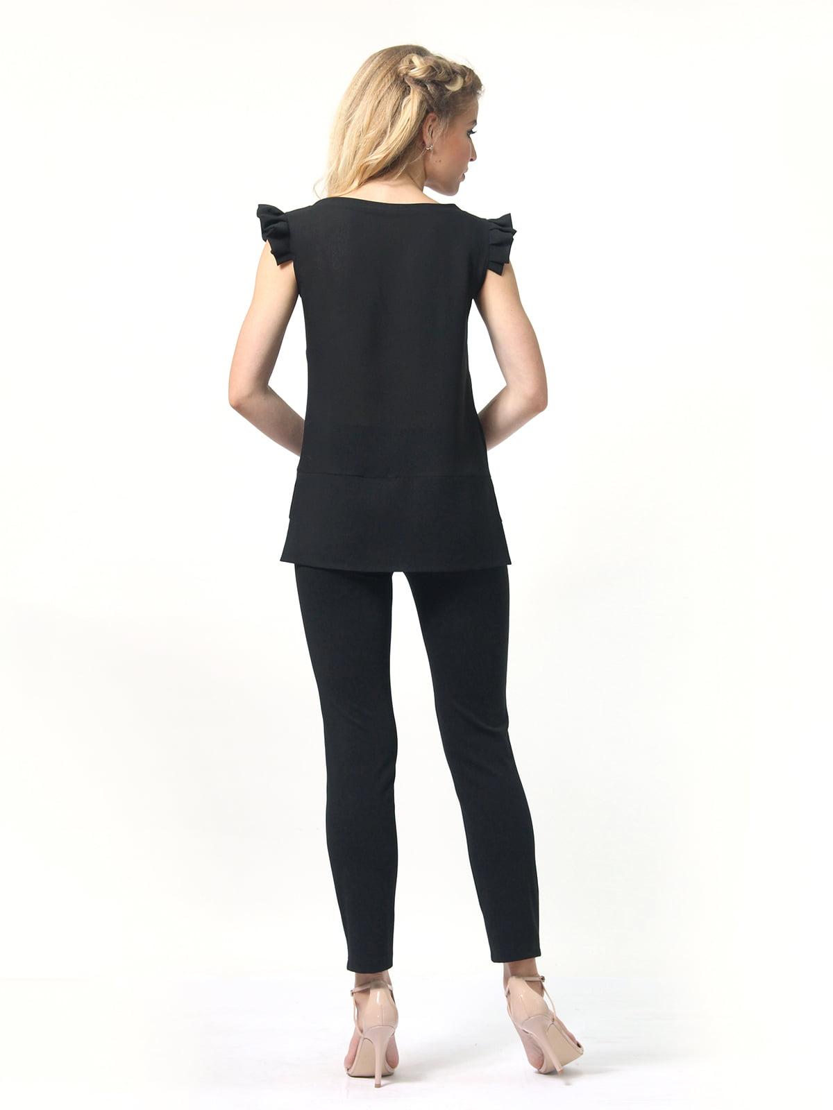 Блуза черная   4418810   фото 7