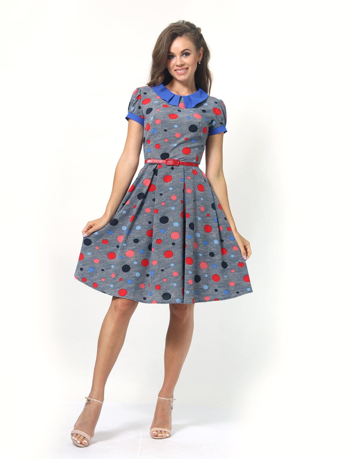 Платье в горошек | 4418830