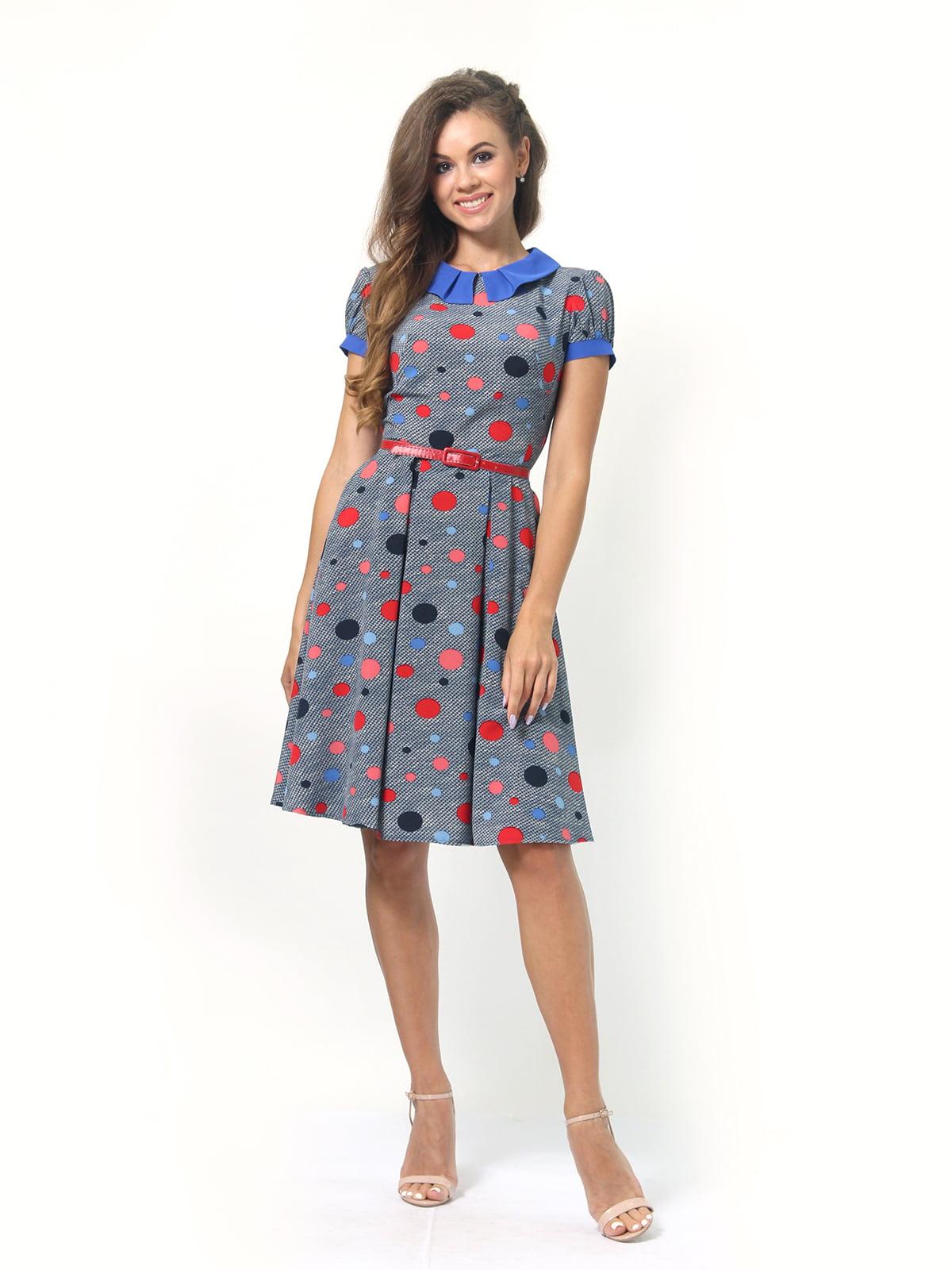 Платье в горошек | 4418830 | фото 2