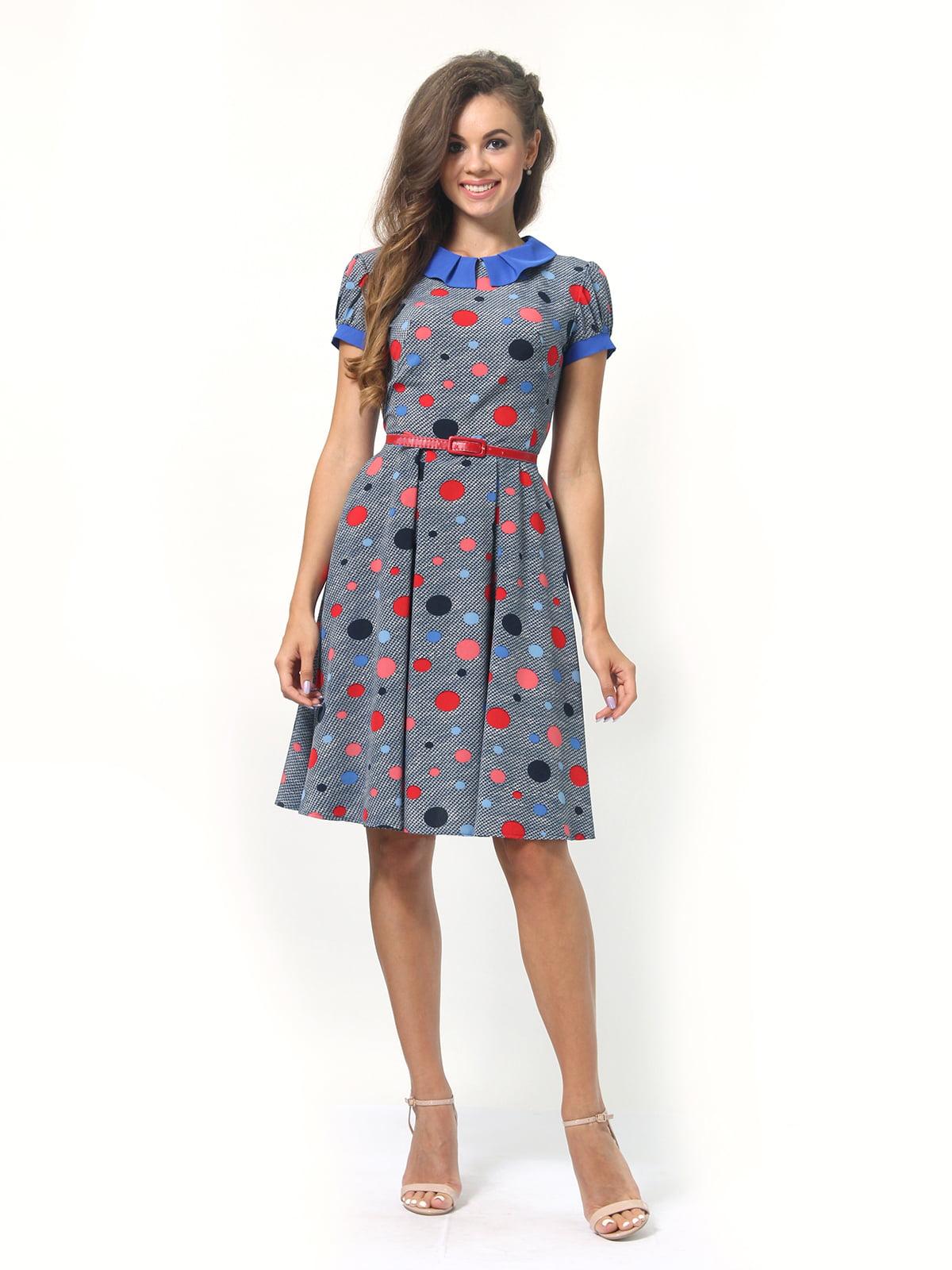 Платье в горошек | 4418830 | фото 3