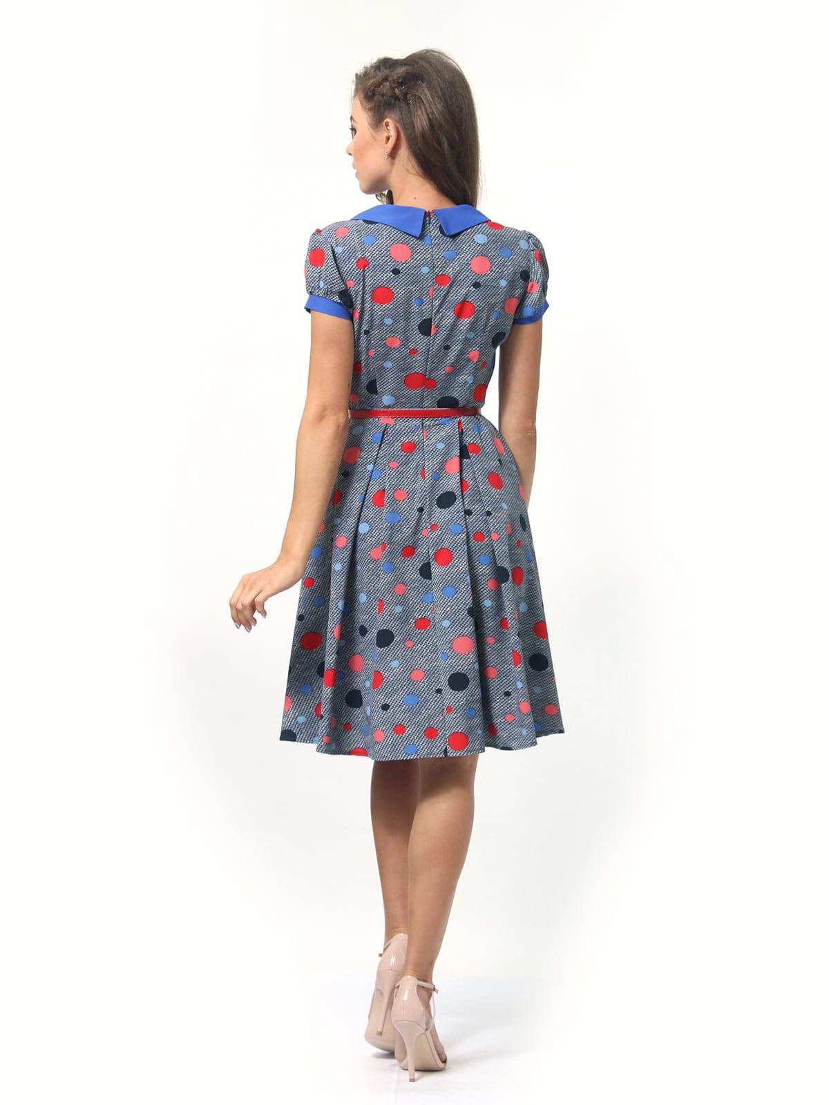 Платье в горошек | 4418830 | фото 4