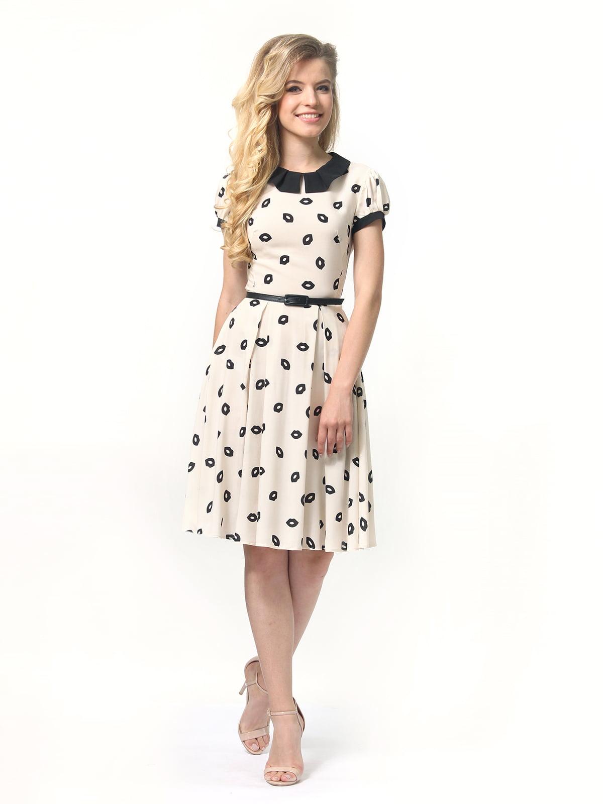 Платье в принт | 4418832 | фото 2