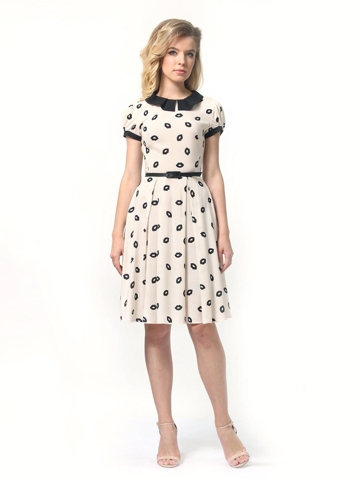 Платье в принт | 4418832 | фото 3
