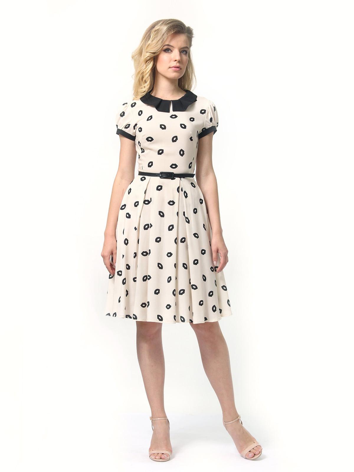 Платье в принт | 4418832 | фото 4