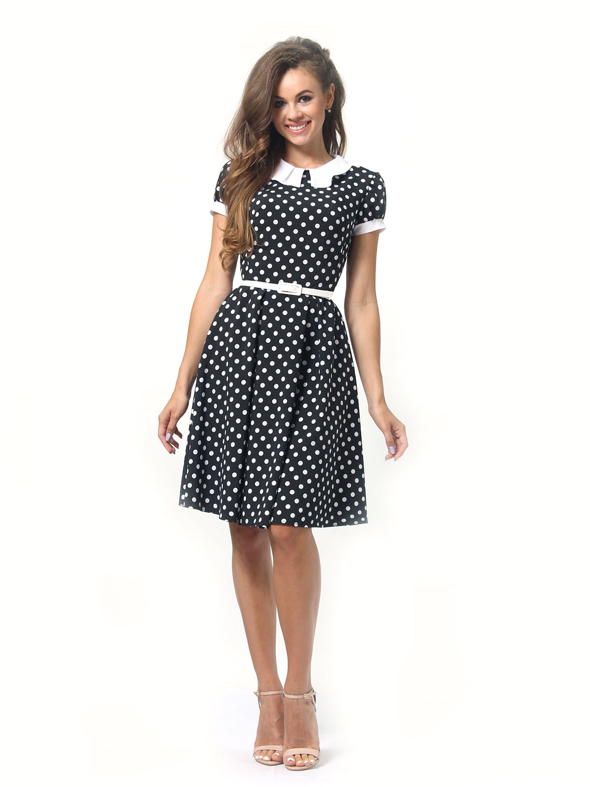 Платье в горошек | 4418833