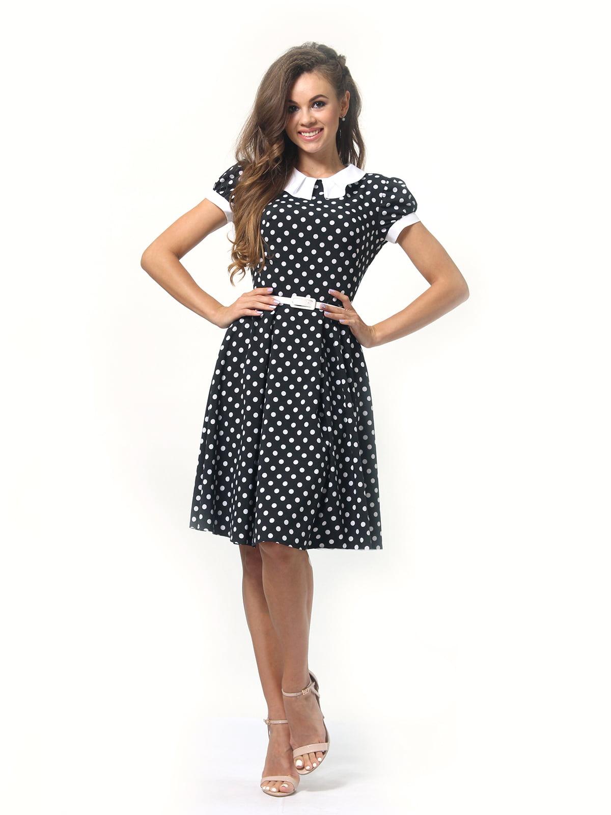 Платье в горошек | 4418833 | фото 2
