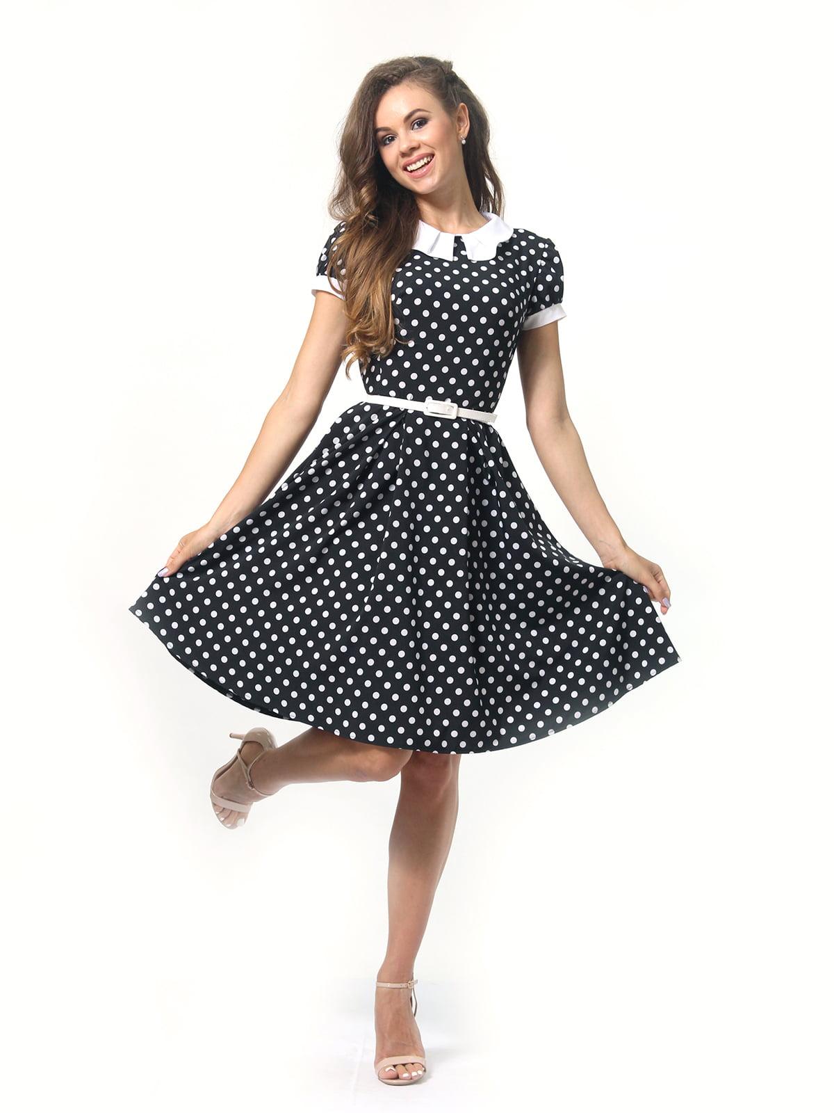 Платье в горошек | 4418833 | фото 3