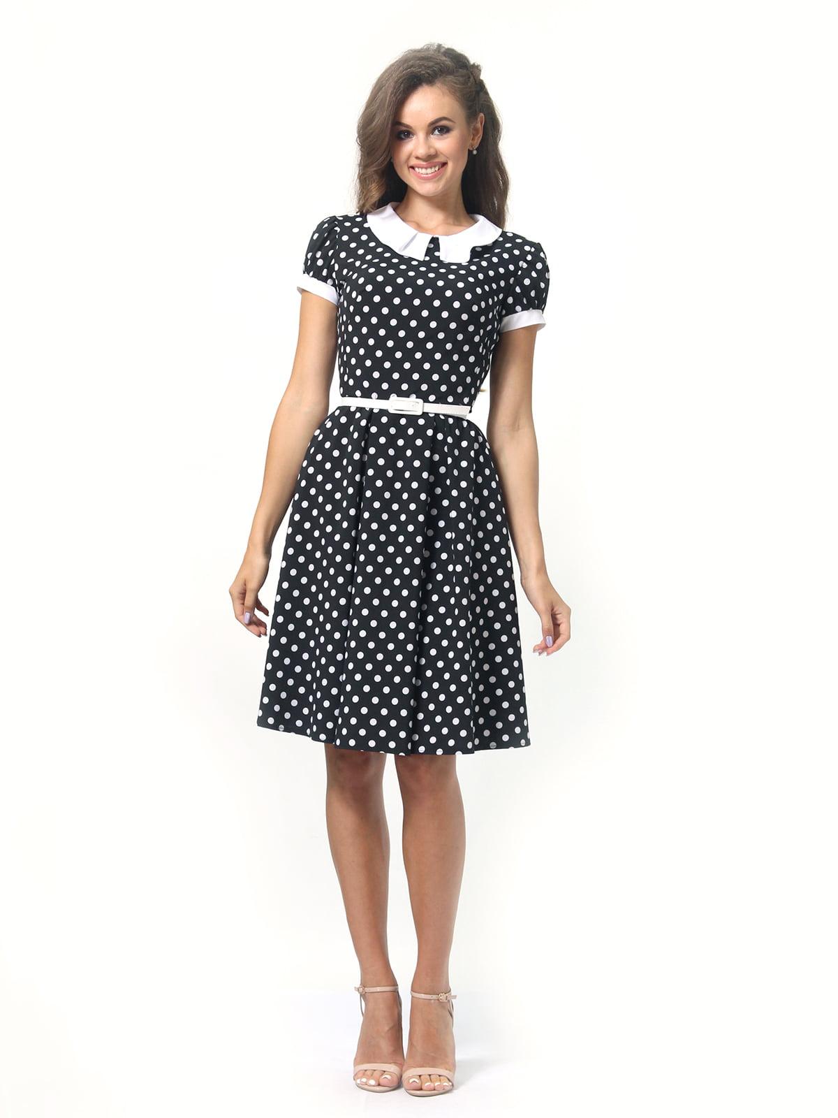 Платье в горошек | 4418833 | фото 4
