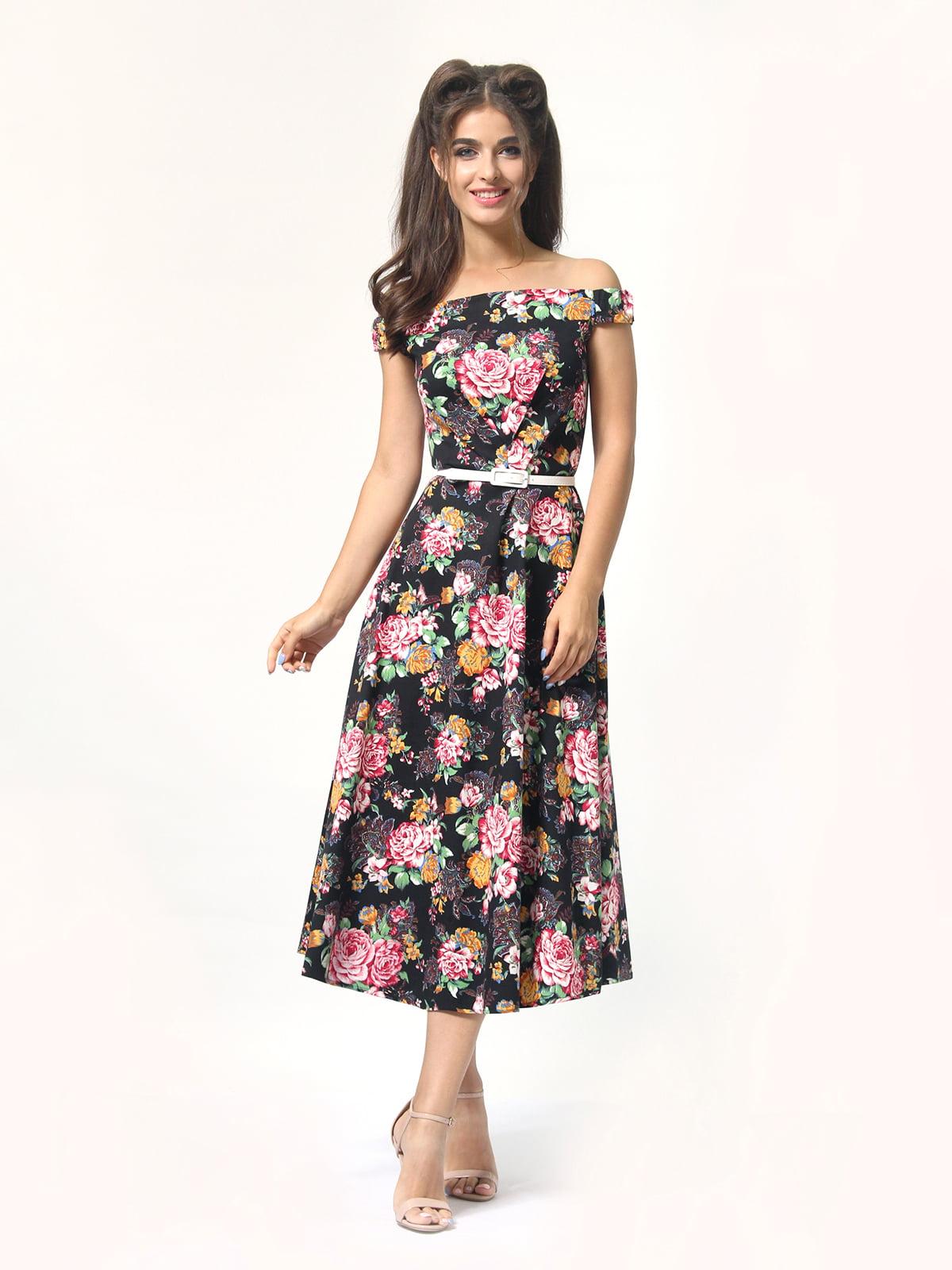 Сукня в квітковий принт | 4418838