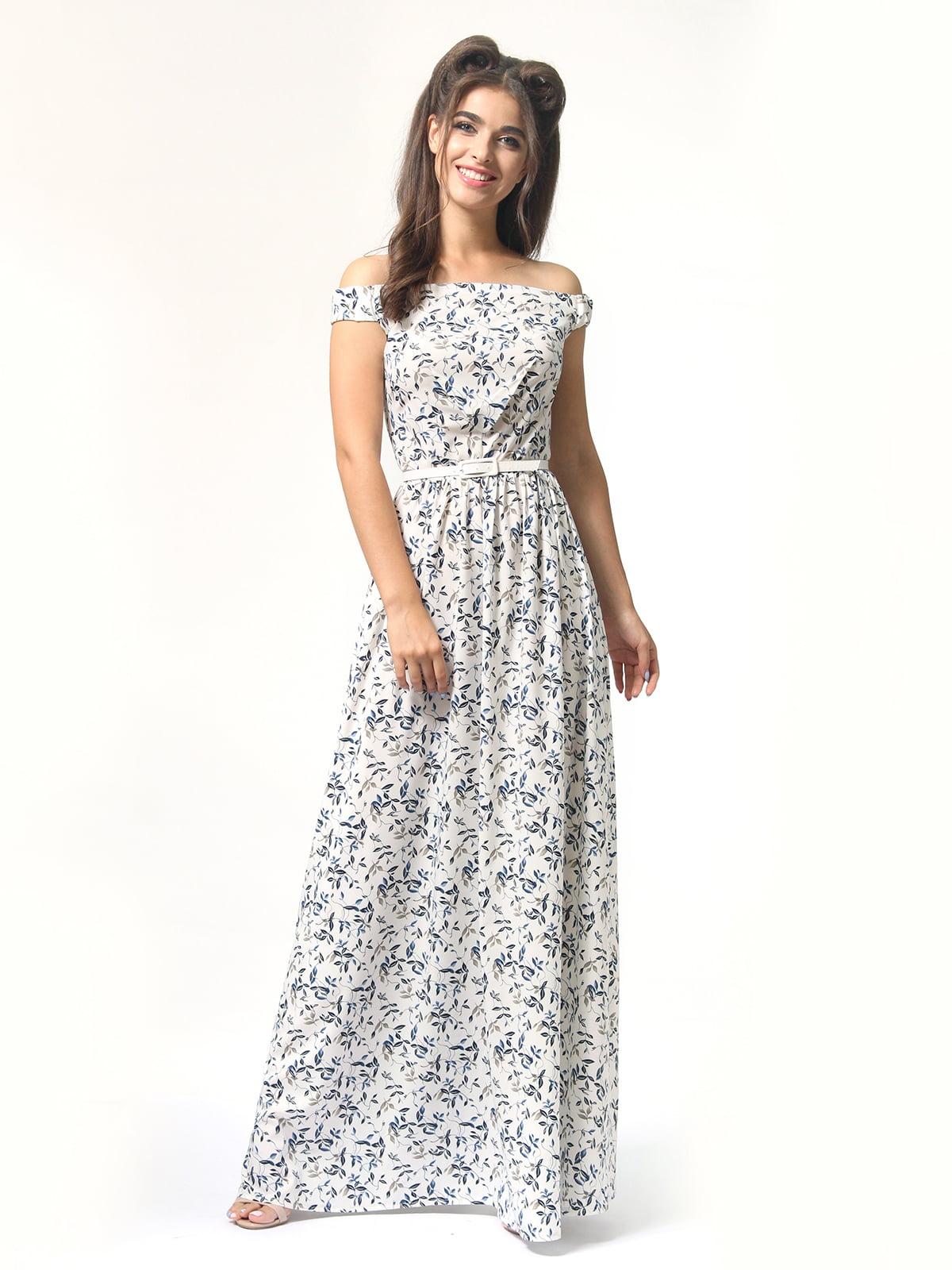 Платье в цветочный принт | 4418841 | фото 2