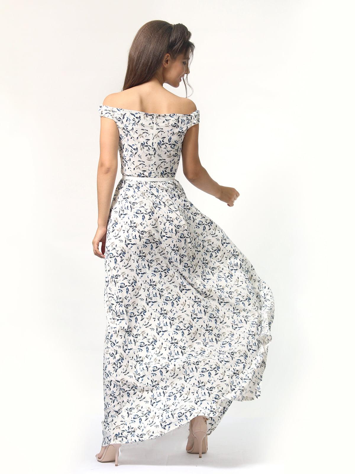 Платье в цветочный принт | 4418841 | фото 8