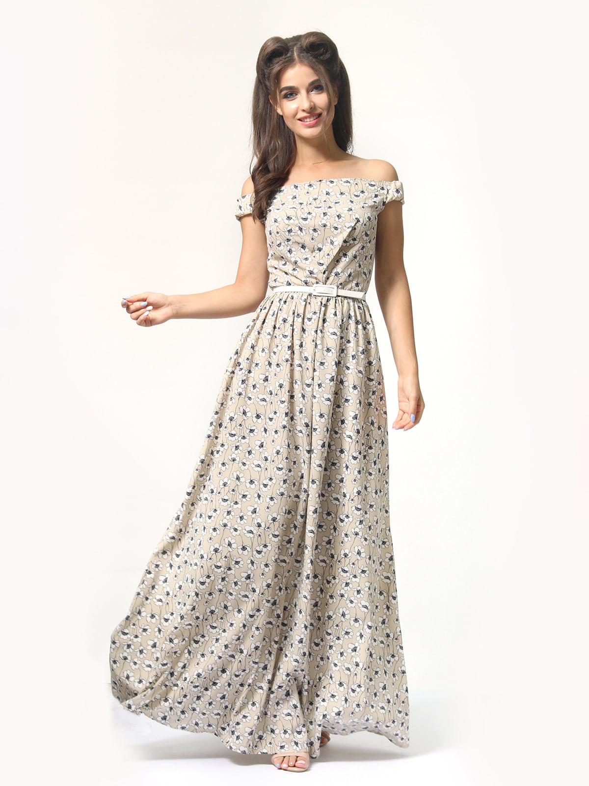 Сукня в квітковий принт | 4418844