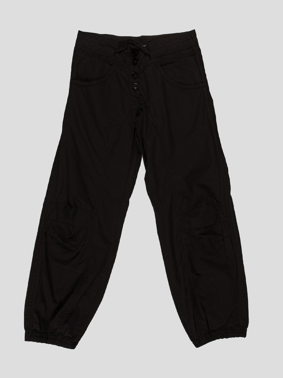 Штани чорні | 77565