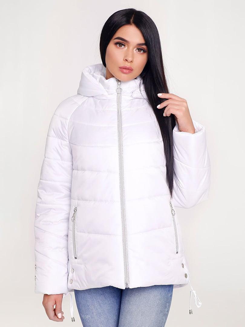 Куртка белая | 4421194 | фото 3