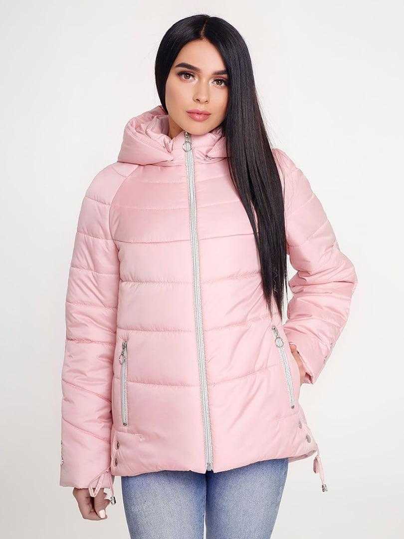 Куртка розовая | 4421195 | фото 2