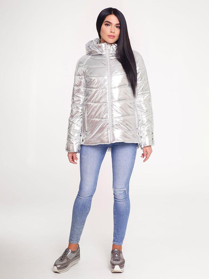 Куртка срібляста | 4421202