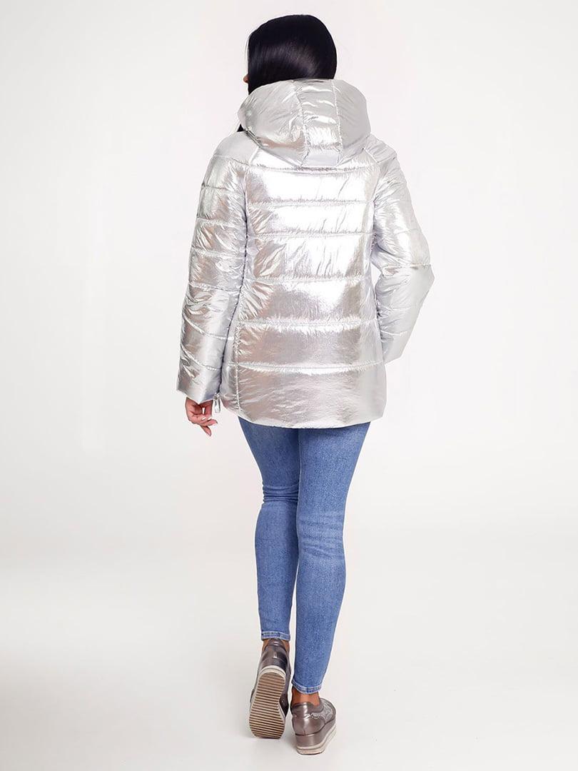 Куртка срібляста | 4421202 | фото 2