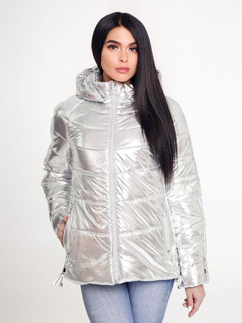 Куртка срібляста | 4421202 | фото 3