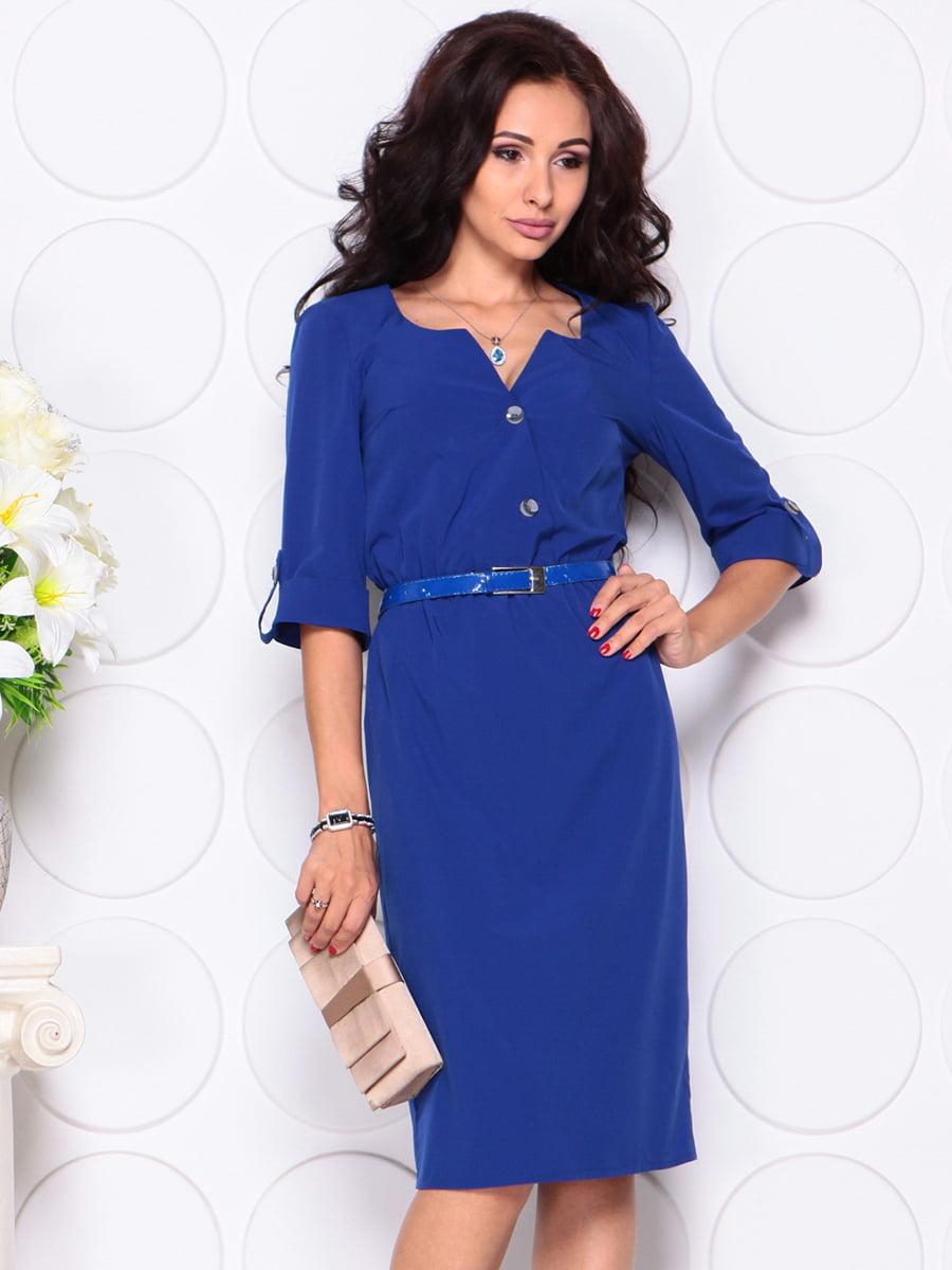 Платье цвета электрик   4414377