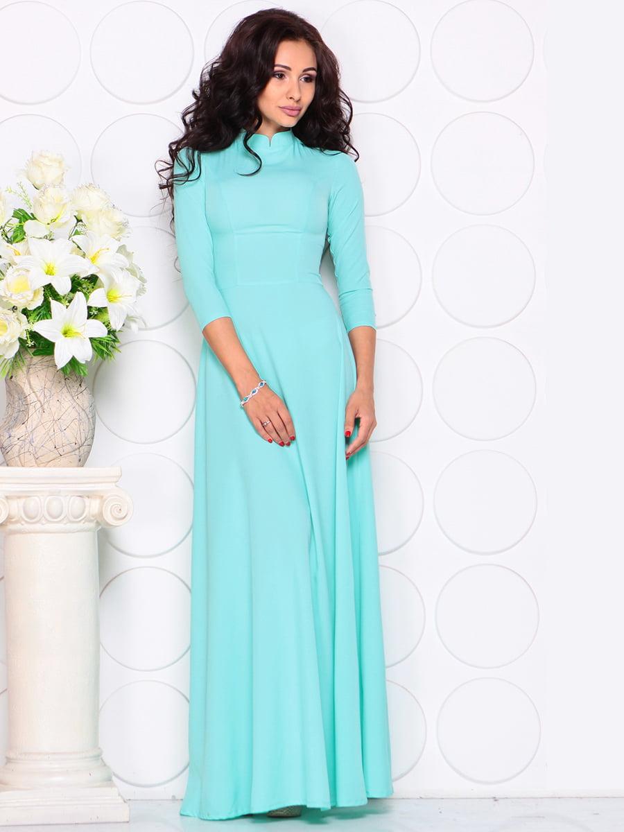 Платье голубое | 4414383