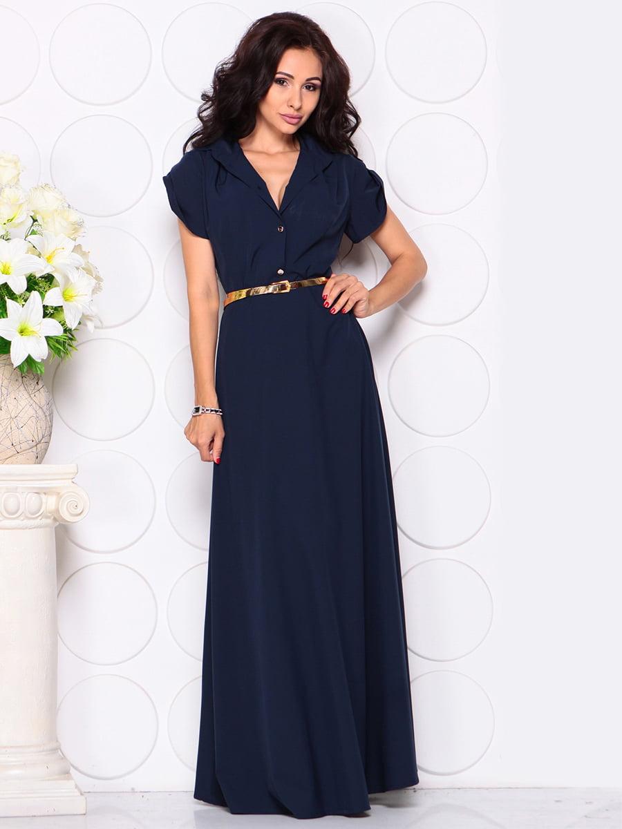 Сукня темно-синя   4414389