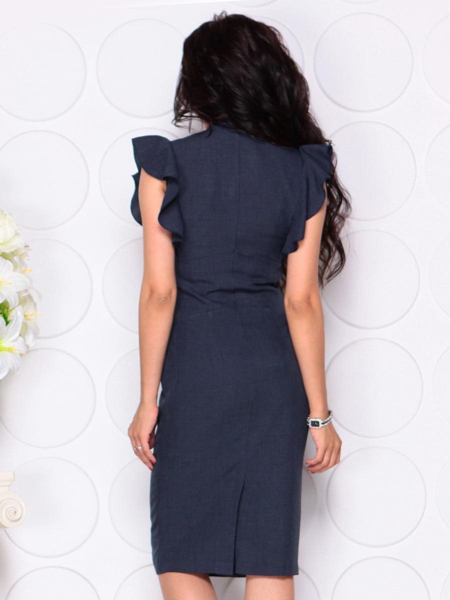 Платье темно-синее | 4414390 | фото 2