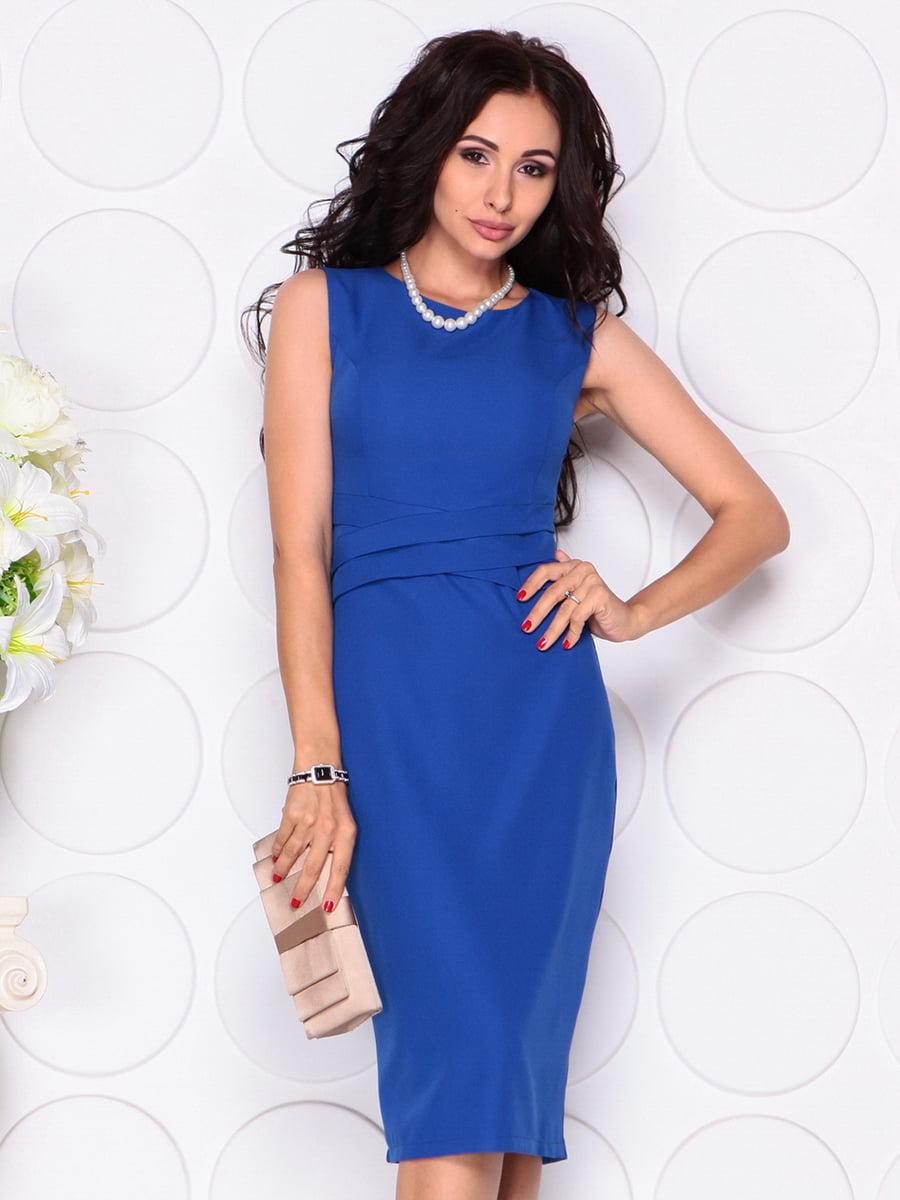 Платье цвета электрик | 4414392