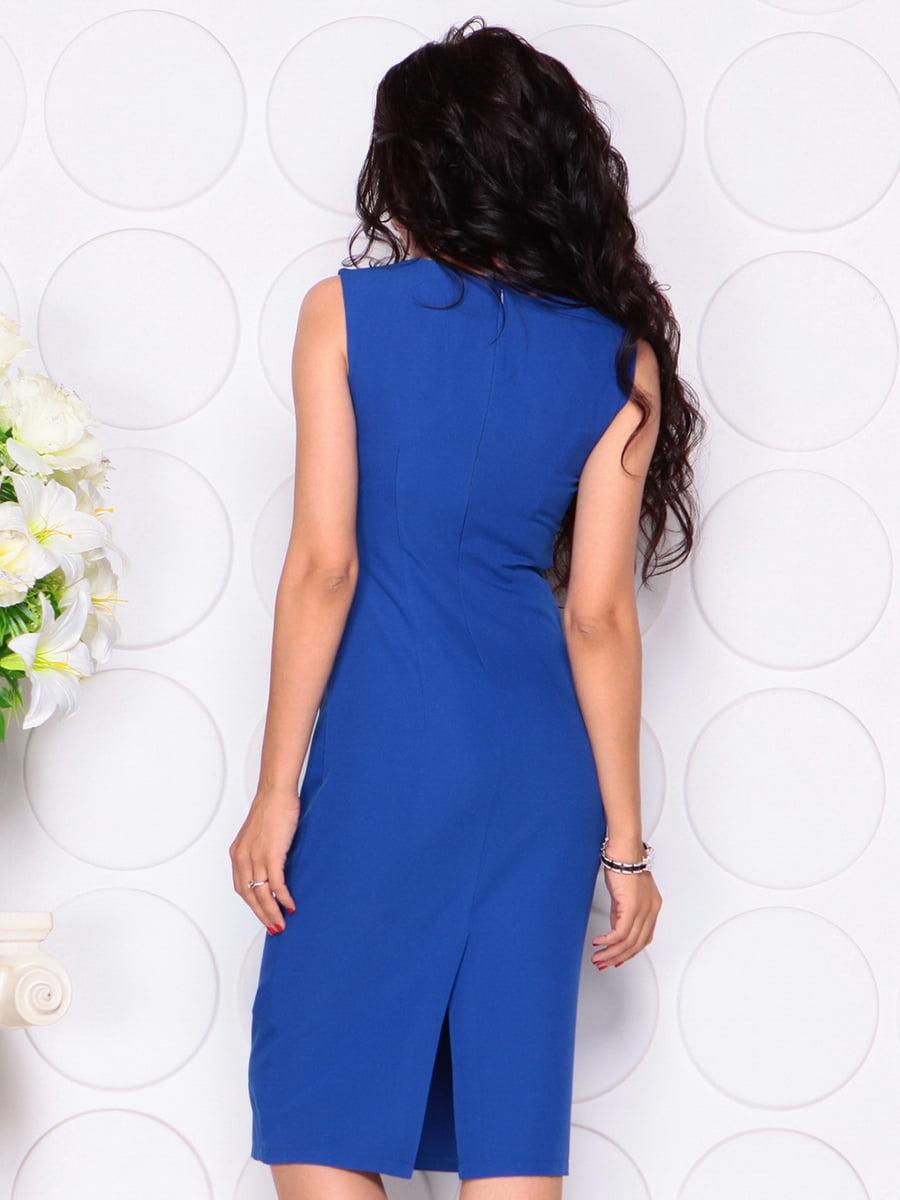 Платье цвета электрик | 4414392 | фото 2