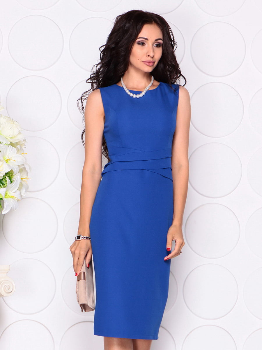 Платье цвета электрик | 4414392 | фото 3