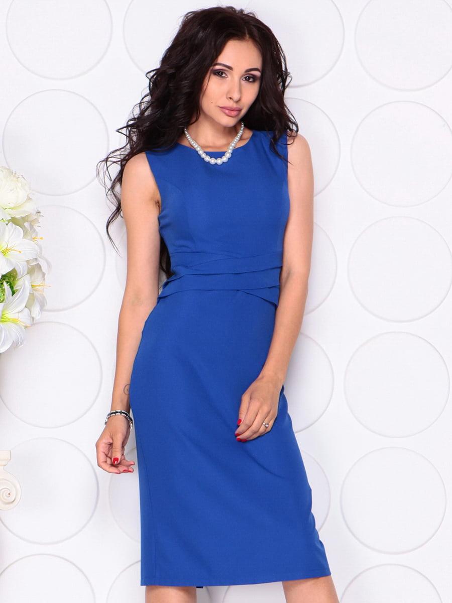 Платье цвета электрик | 4414392 | фото 4