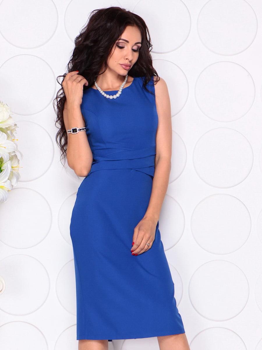 Платье цвета электрик | 4414392 | фото 5