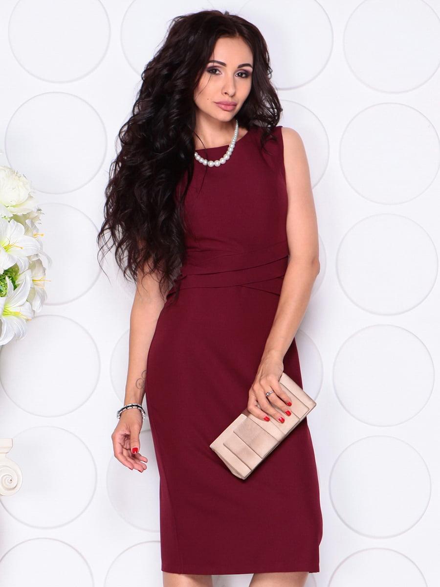 Платье сливового цвета   4414393