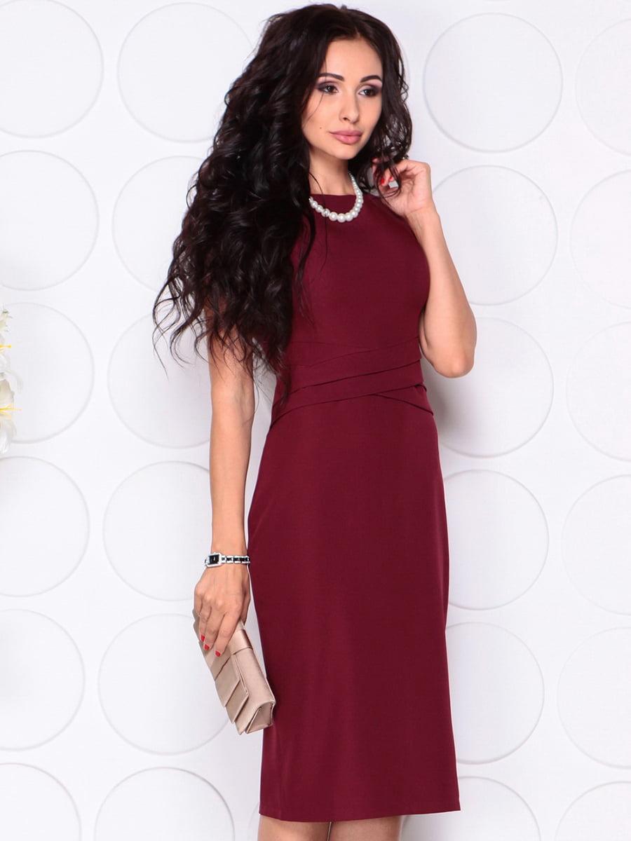 Платье сливового цвета   4414393   фото 3