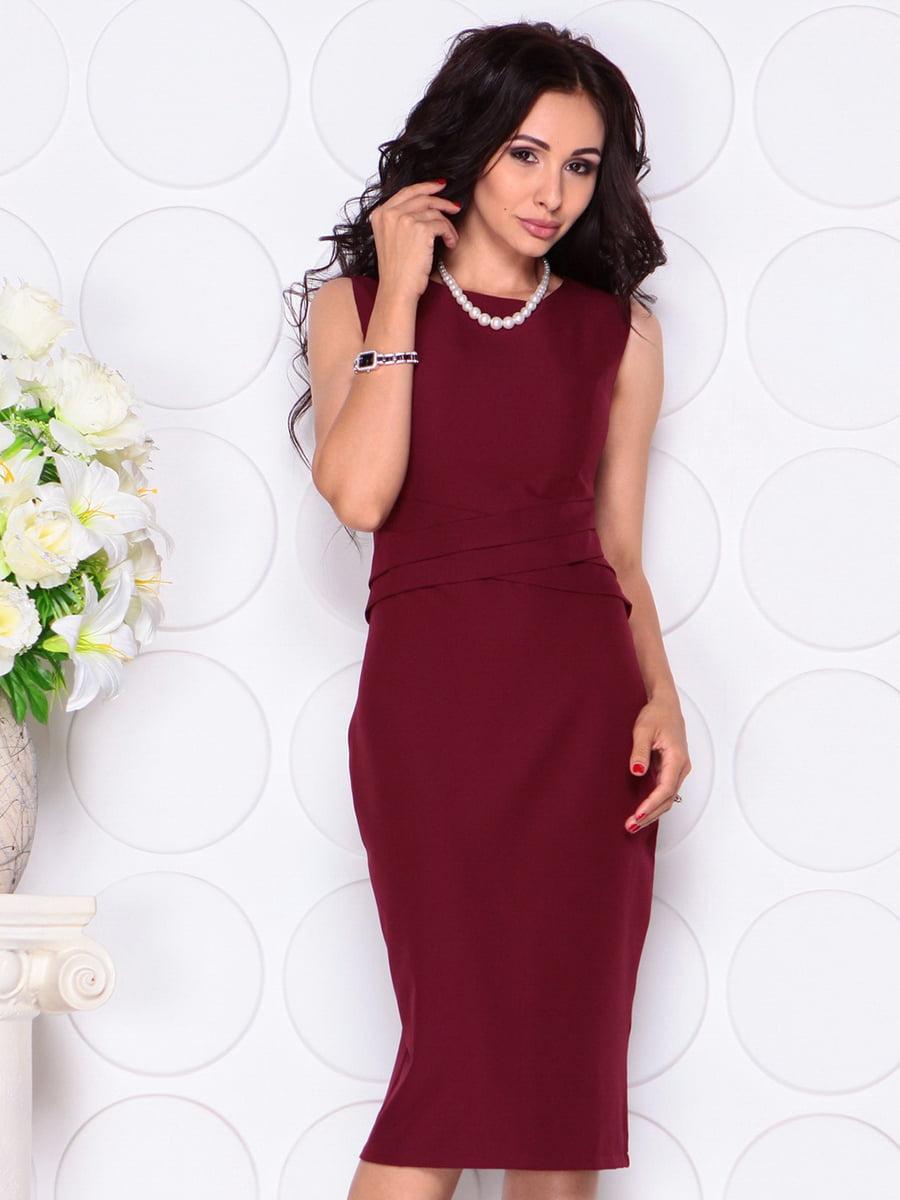 Платье сливового цвета   4414393   фото 4