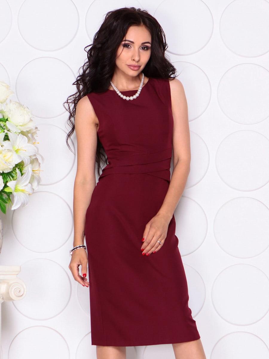 Платье сливового цвета   4414393   фото 5