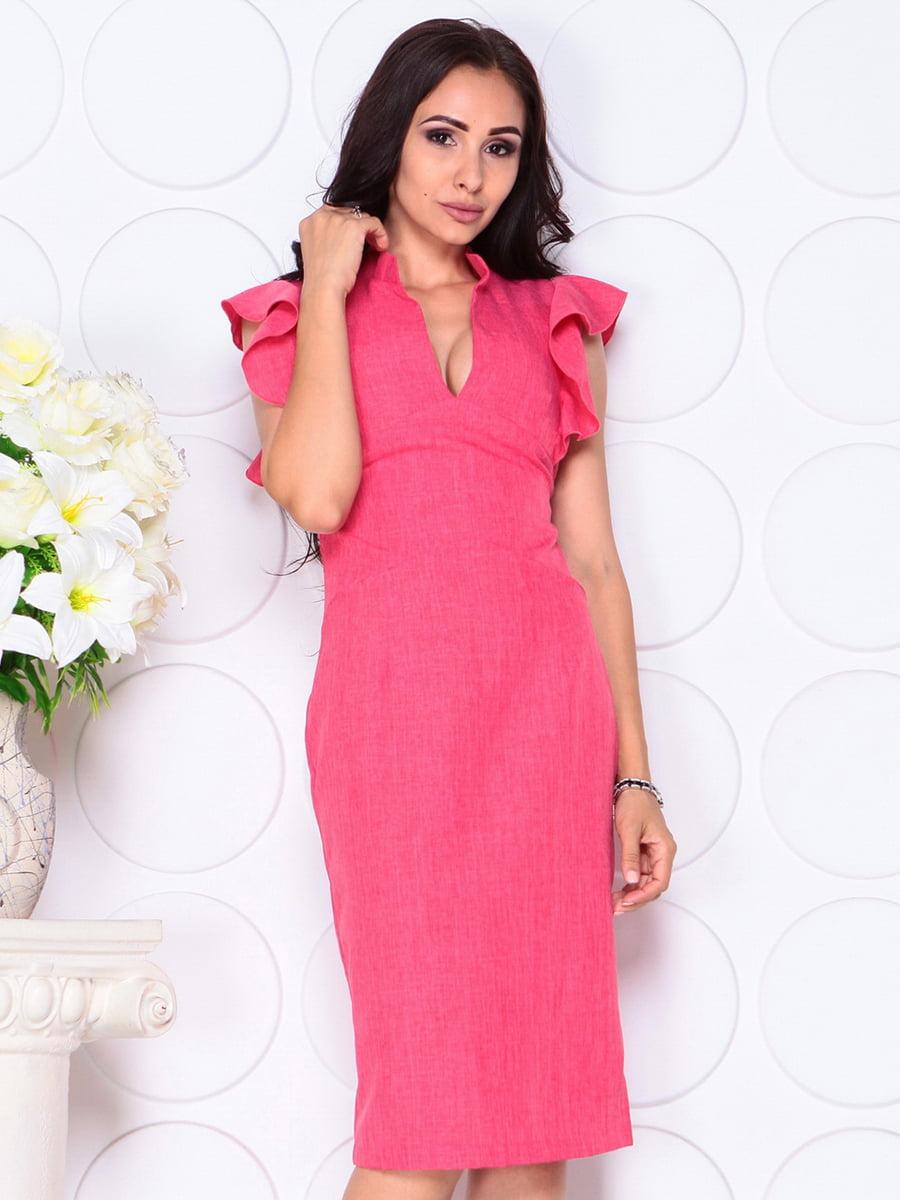 Платье красное | 4419772 | фото 4