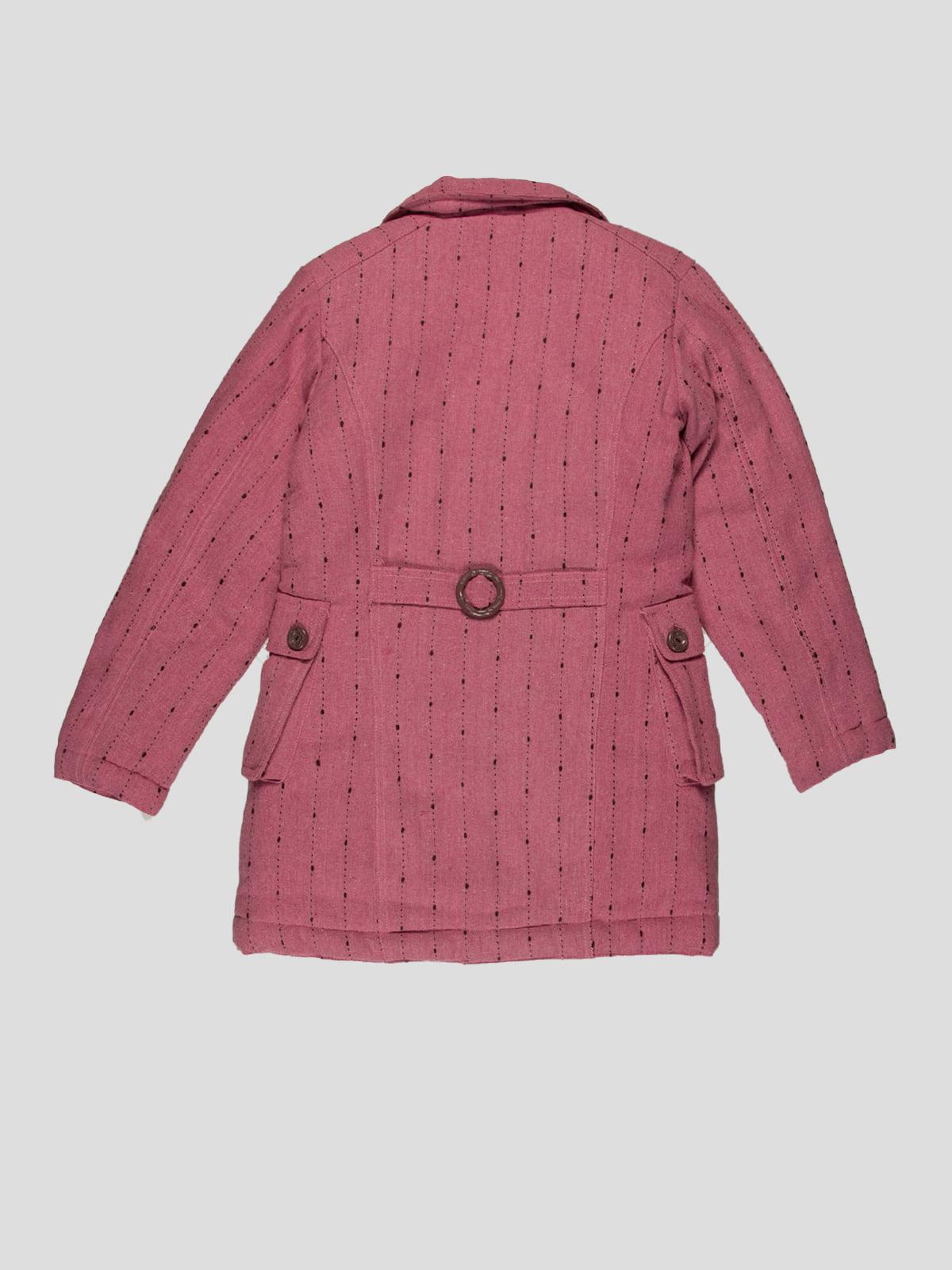 Пальто рожеве | 4396281 | фото 2