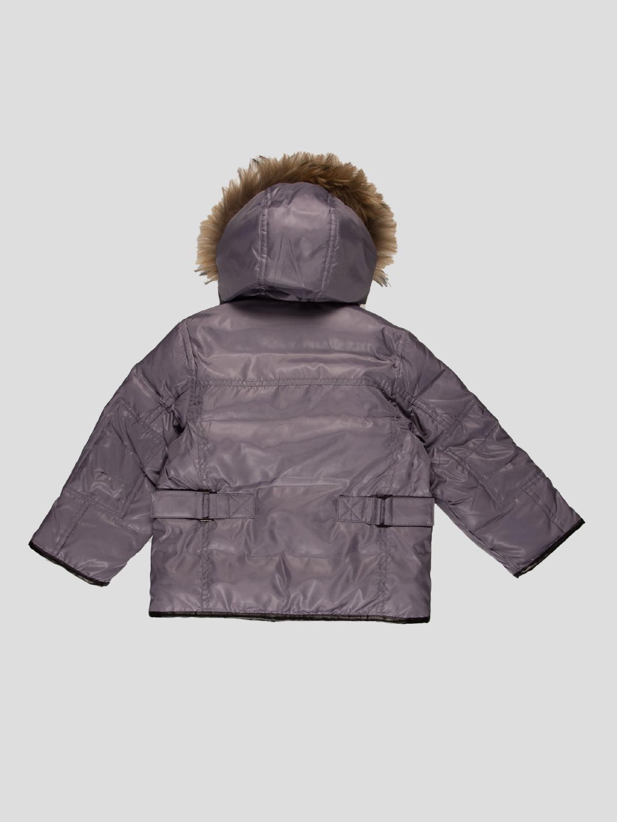 Куртка сіра | 4397285 | фото 2