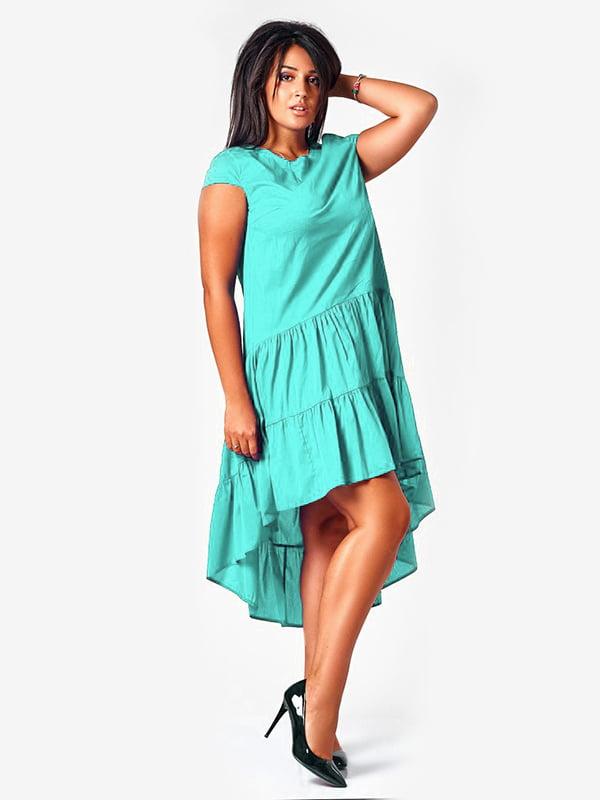 Сукня бірюзова | 4424591