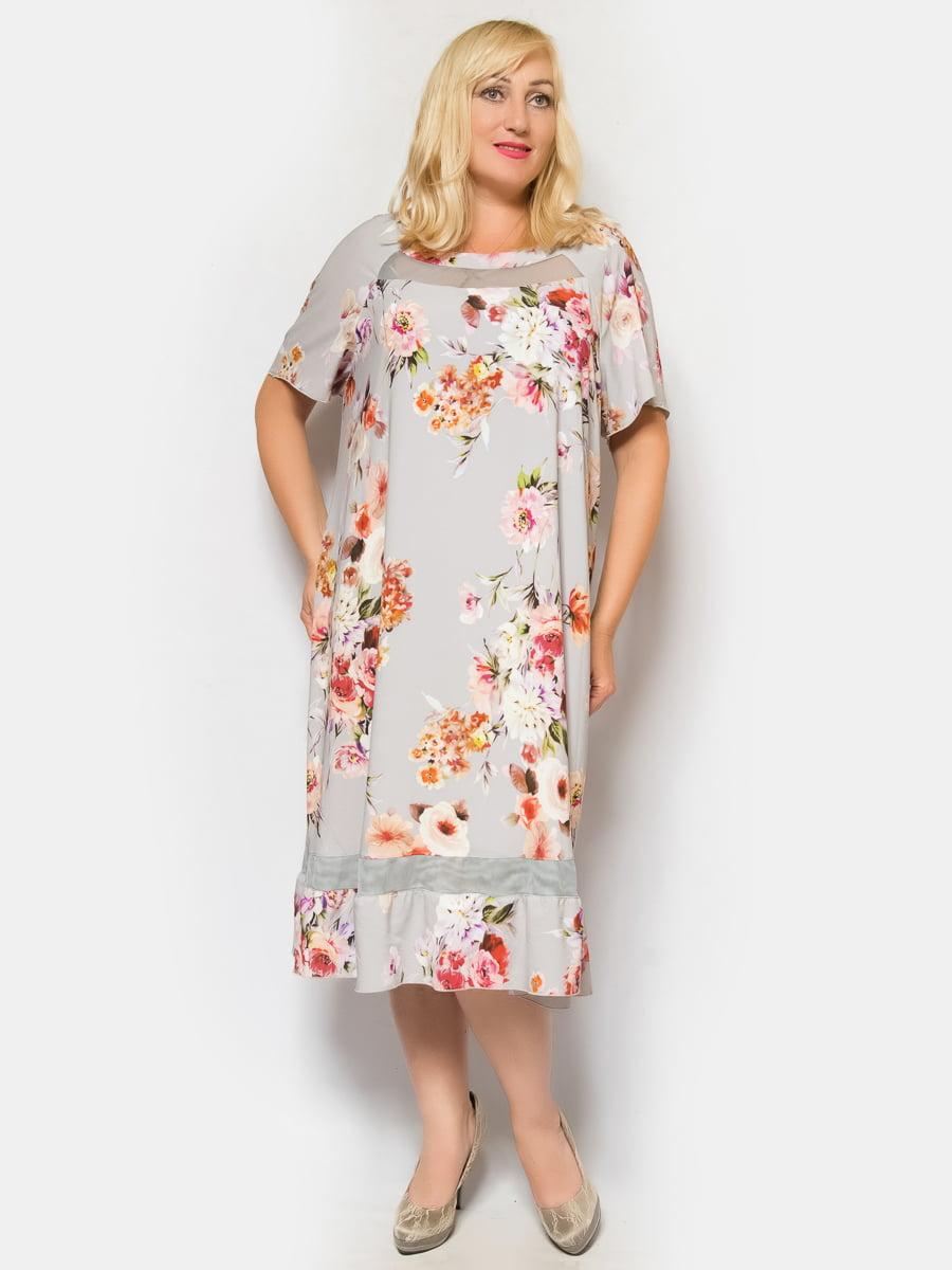 Сукня сіра   4424823